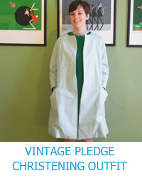 Vintage Pledge Christening Outfit