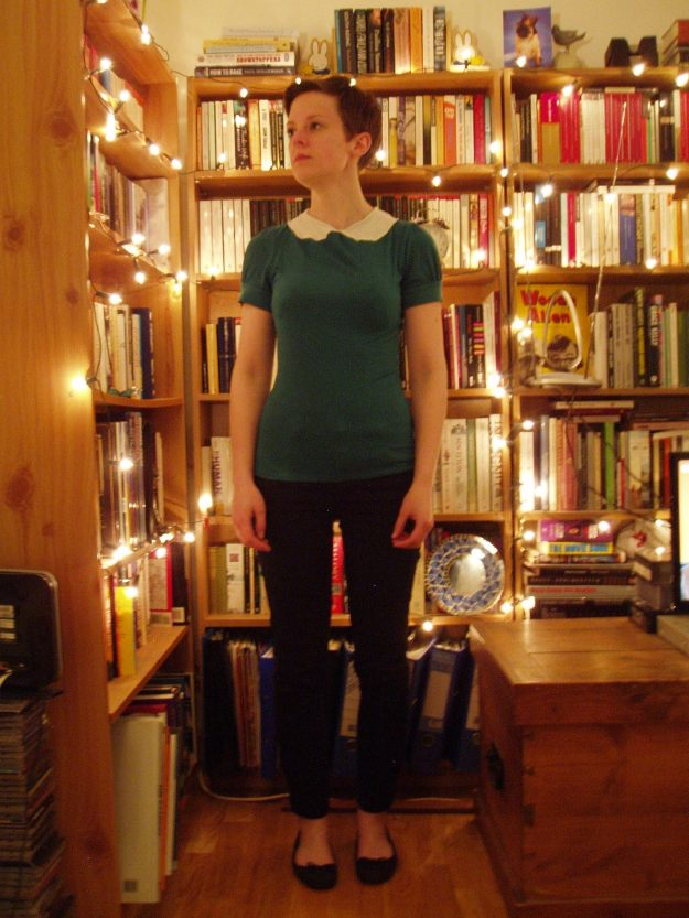Refashioned High-Necked Tops
