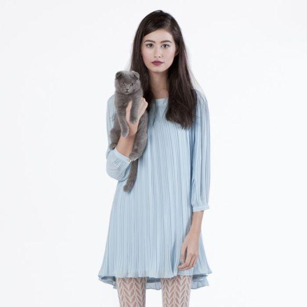 Bella Dress - Light Blue
