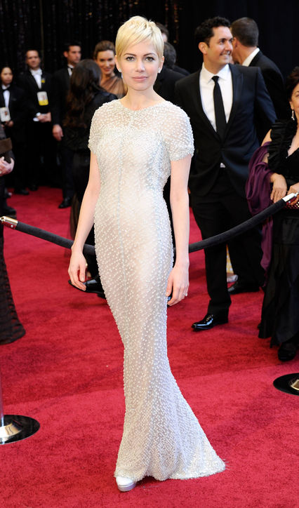 Jewelled Oscars Gown