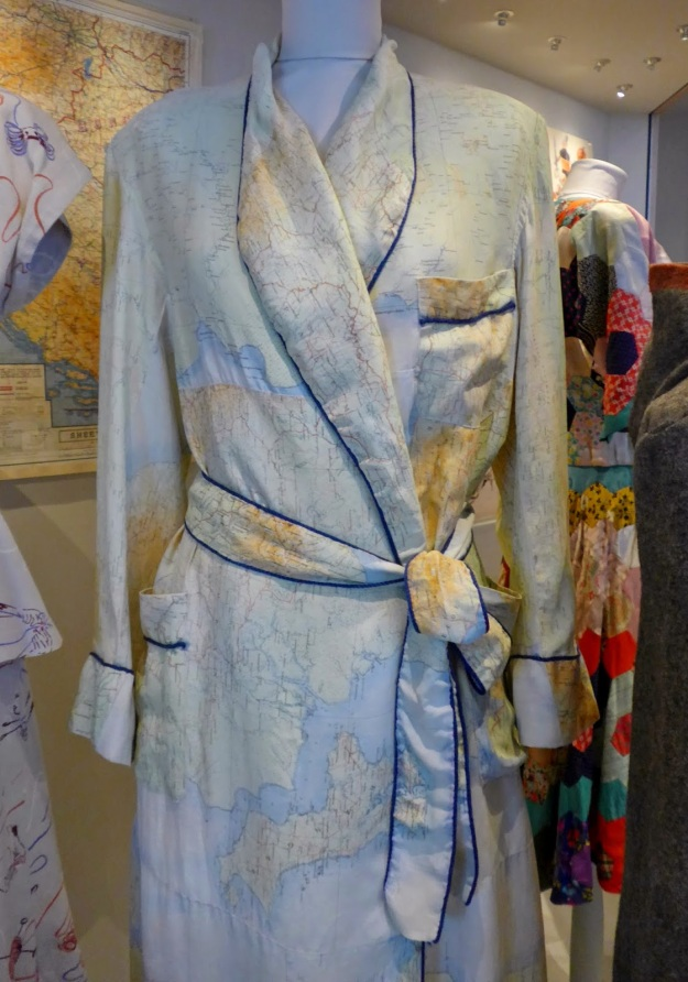 Escape Map Dressing Gown