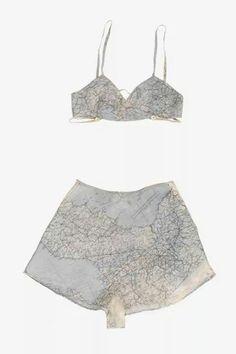 Escape Map Underwear