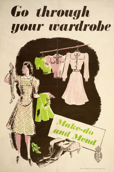 Make Do And Mend Poster