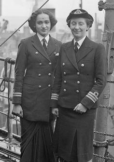 Wren's uniform on boat