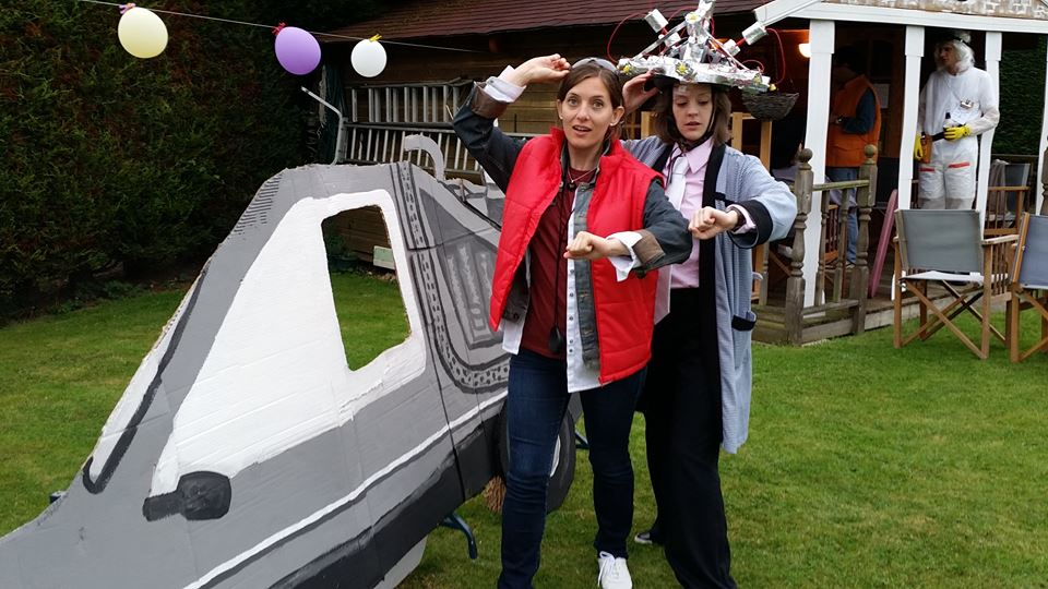 Très Make It: Back to the Future Doc Brown Costume UH39