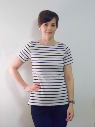 Breton Striped Plantain Tee