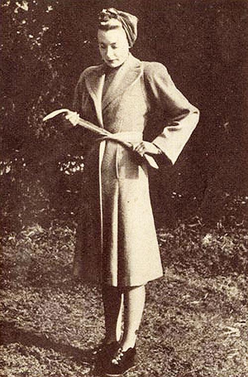 Deborah Kerr Derata Utility Coat