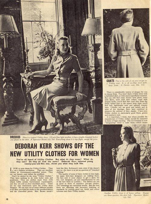 Deborah Kerr Newspaper