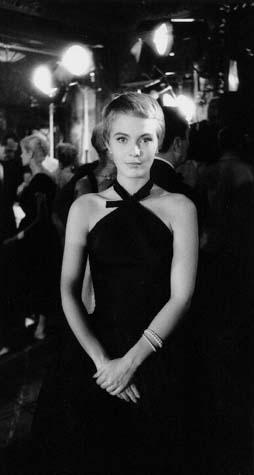 Jean Seberg evening dress