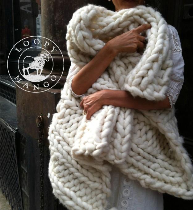 Loopy Mango blanket