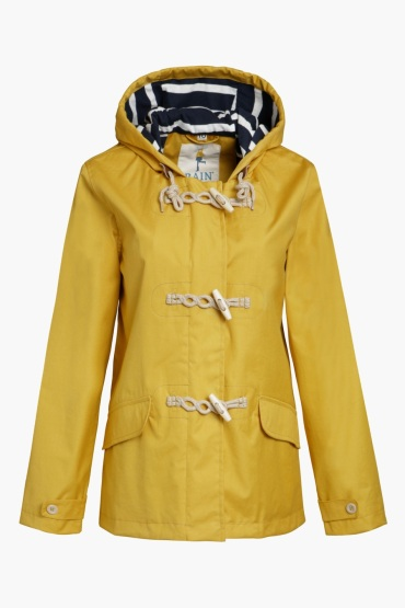 Sea Salt Yellow Duffel Coat
