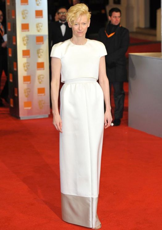 Tilda Swinton The Orange British Academy Film Awards (BAFTAs) held at the Royal Opera House - Arrivals. London, England - 12.02.12 Featuring: Tilda Swinton Where: London, United Kingdom When: 12 Feb 2012 Credit: WENN