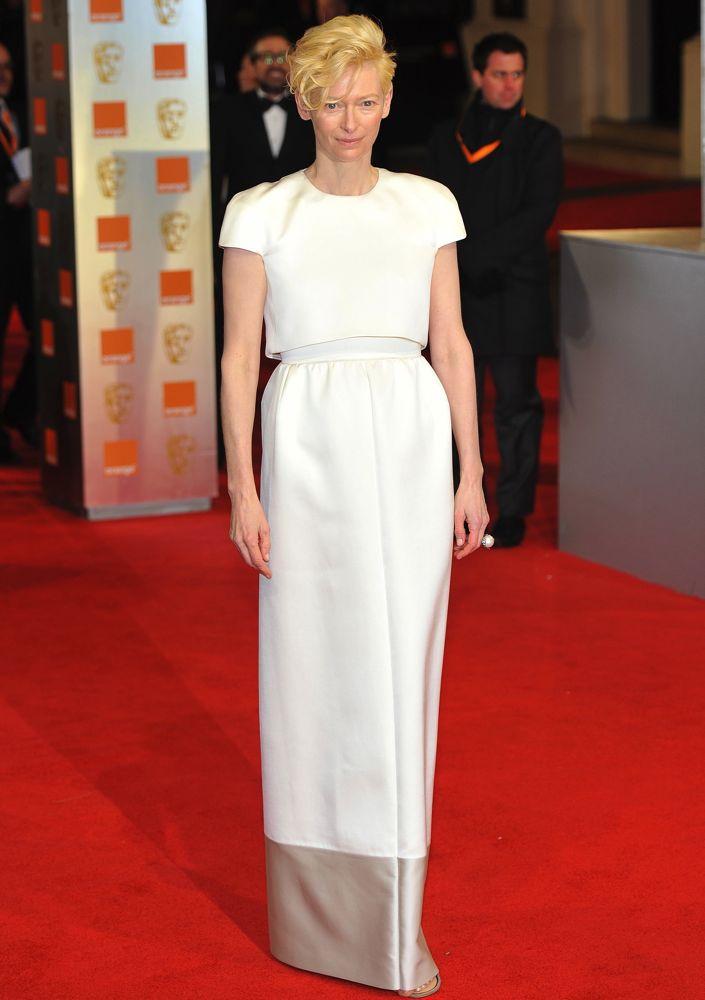 Tilda Swinton The Orange British Academy Film Awards (BAFTAs) held at the Royal Opera House - Arrivals. London, England - 12.02.12 Featuring: Tilda Swinton Where: London, United Kingdom When: 12 Feb 2012 Credit: WENN