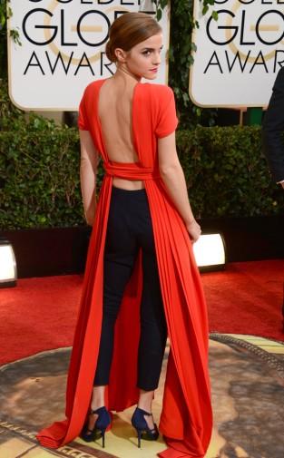Emma Watson Christian Dior, Golden Globes