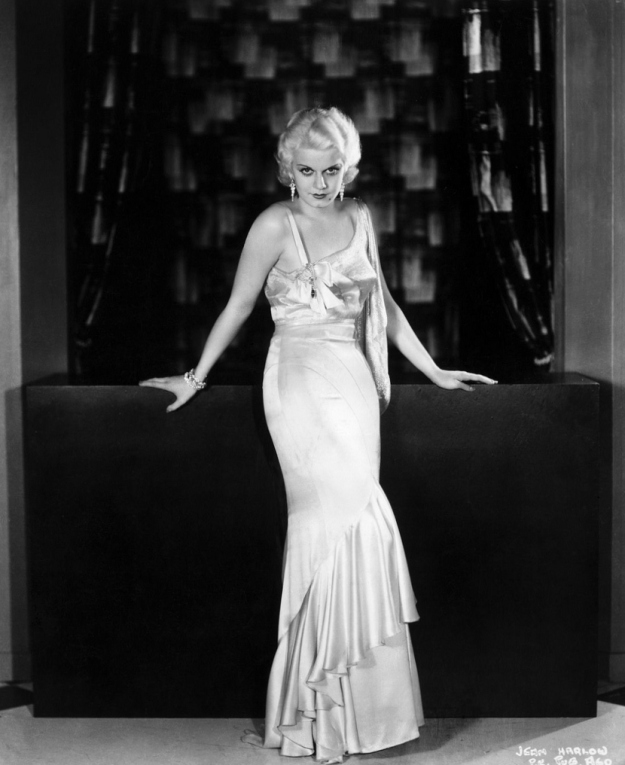 Jean Harlow gown