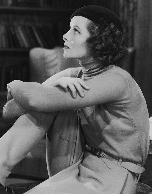 Katharine Hepburn beret