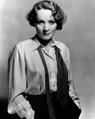 Marlene Dietrich suit
