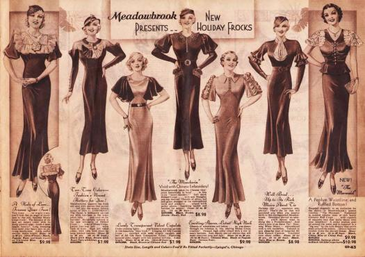 Meadowbrook Illustrations 1930s