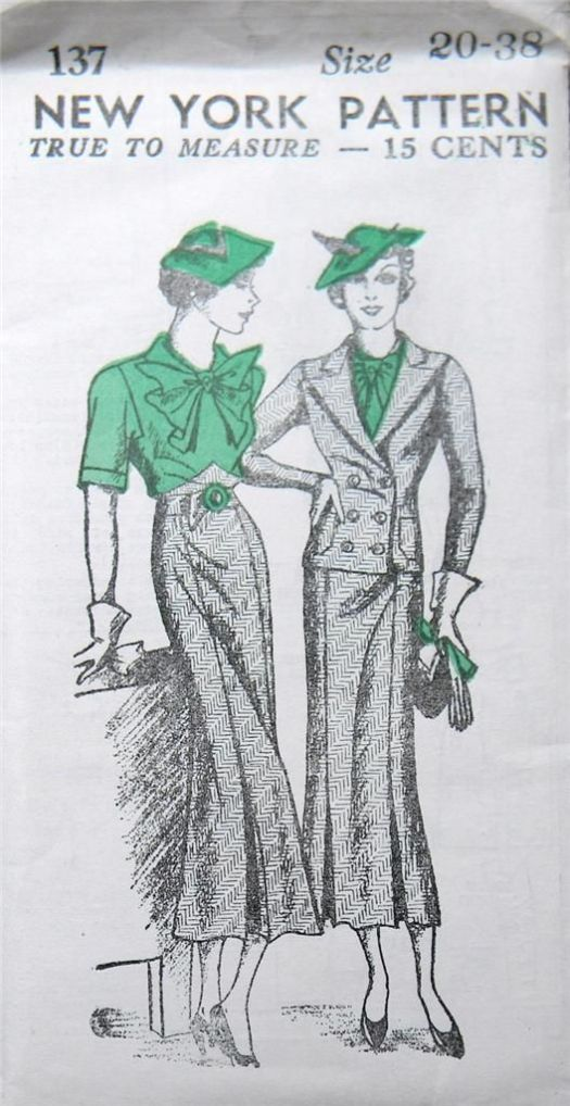 New York Pattern 137 1930s