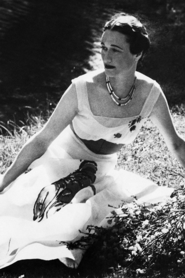 Wallis Simpson by Cecil Beaton in Schiaparelli