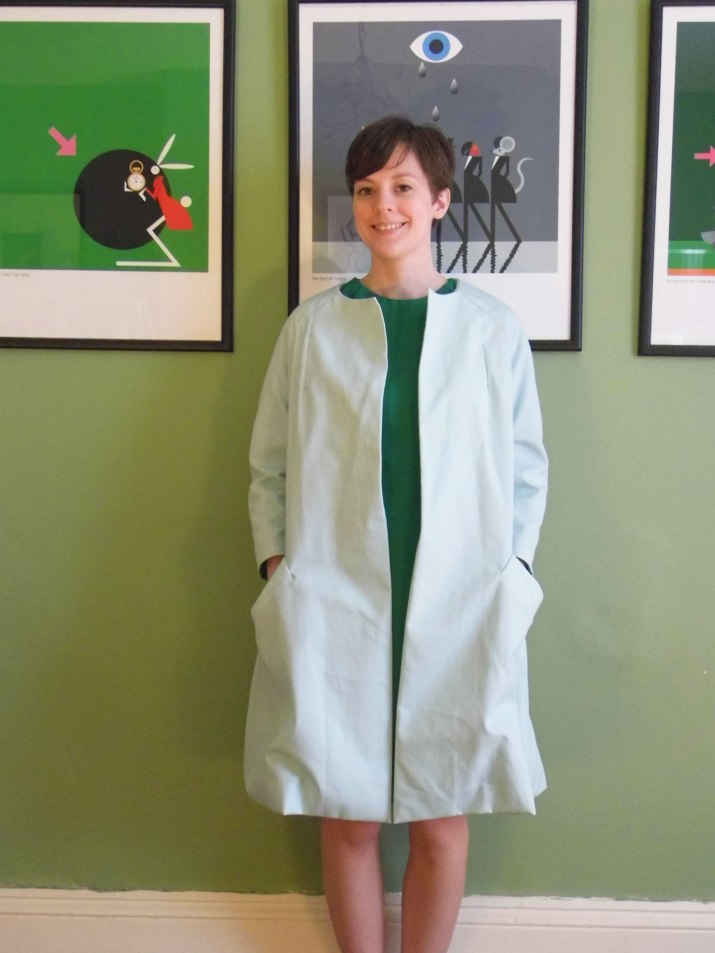 Vintage Pledge Christening Outfit - 1960s Vintage Dress and Coat