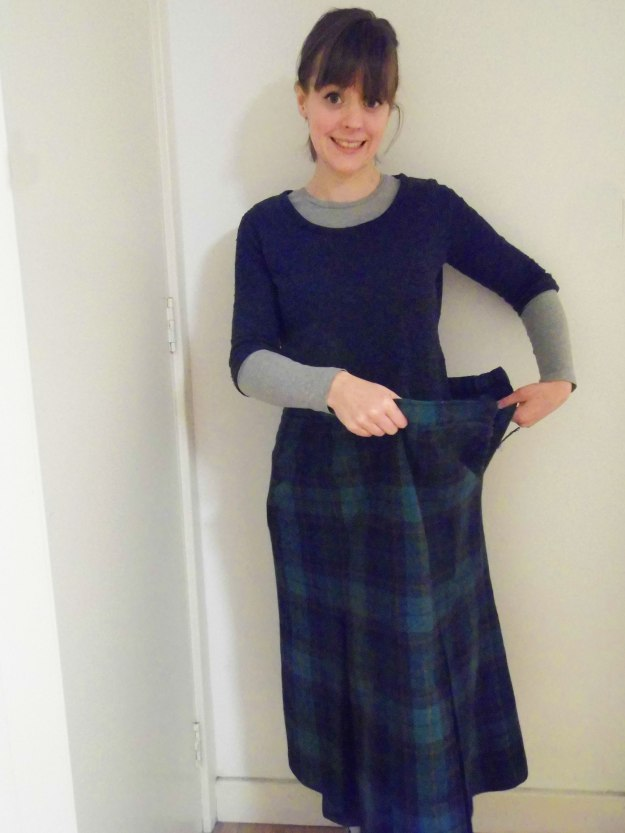 Skirt-to-Cape-Refashion-Before