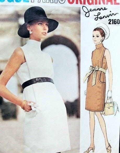 Vogue Paris Original Jeanne Lanvin 2160