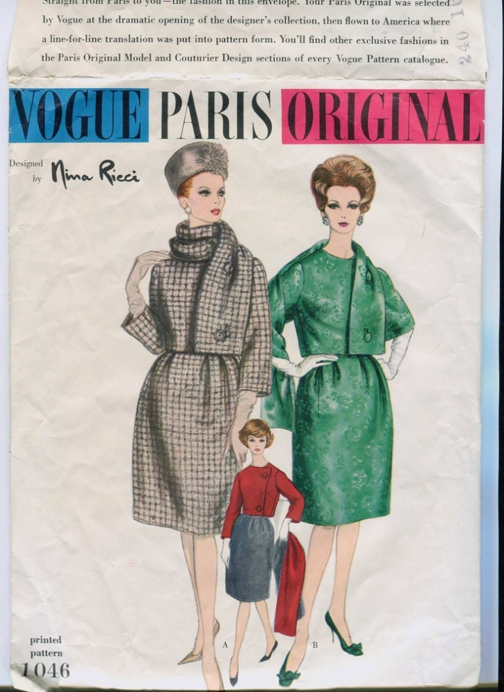 Vogue Paris Original Nina Ricci 1046