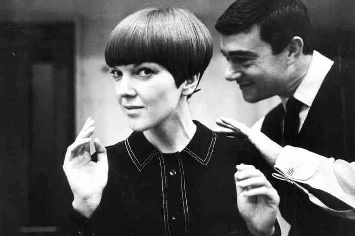 Mary Quant Hairstyle - Vidal Sassoon