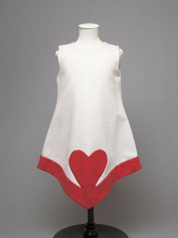 pierre-cardin-heart-dress