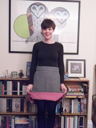 #SewDots Delphine skirt