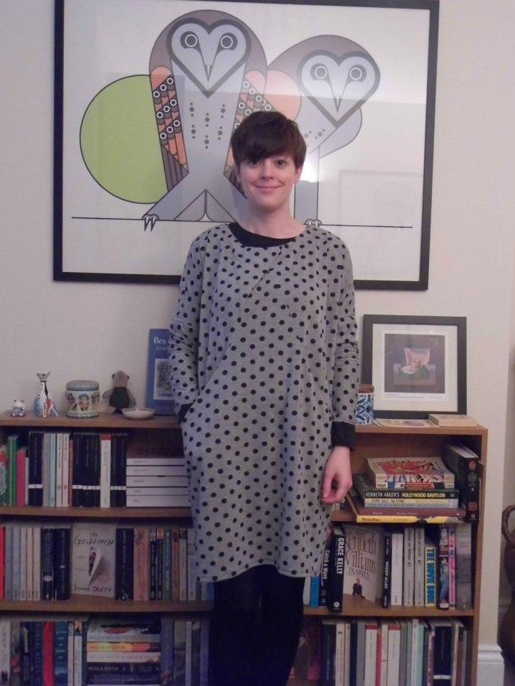 #SewDots GBSB Drapey Knit Dress