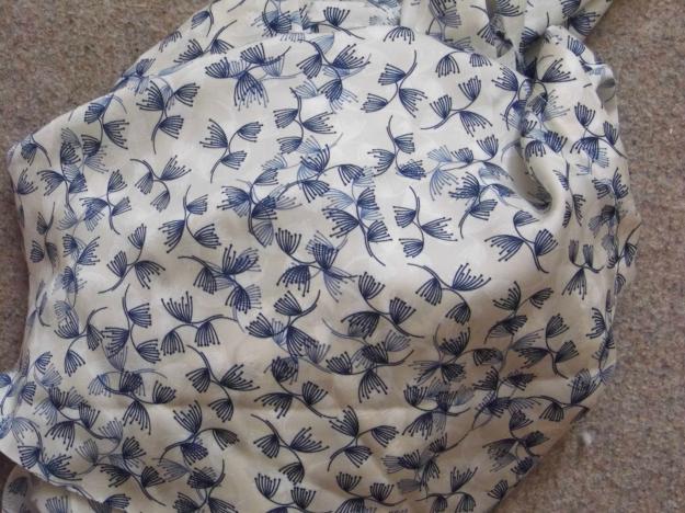 Blue Patterned Melilot Shirt