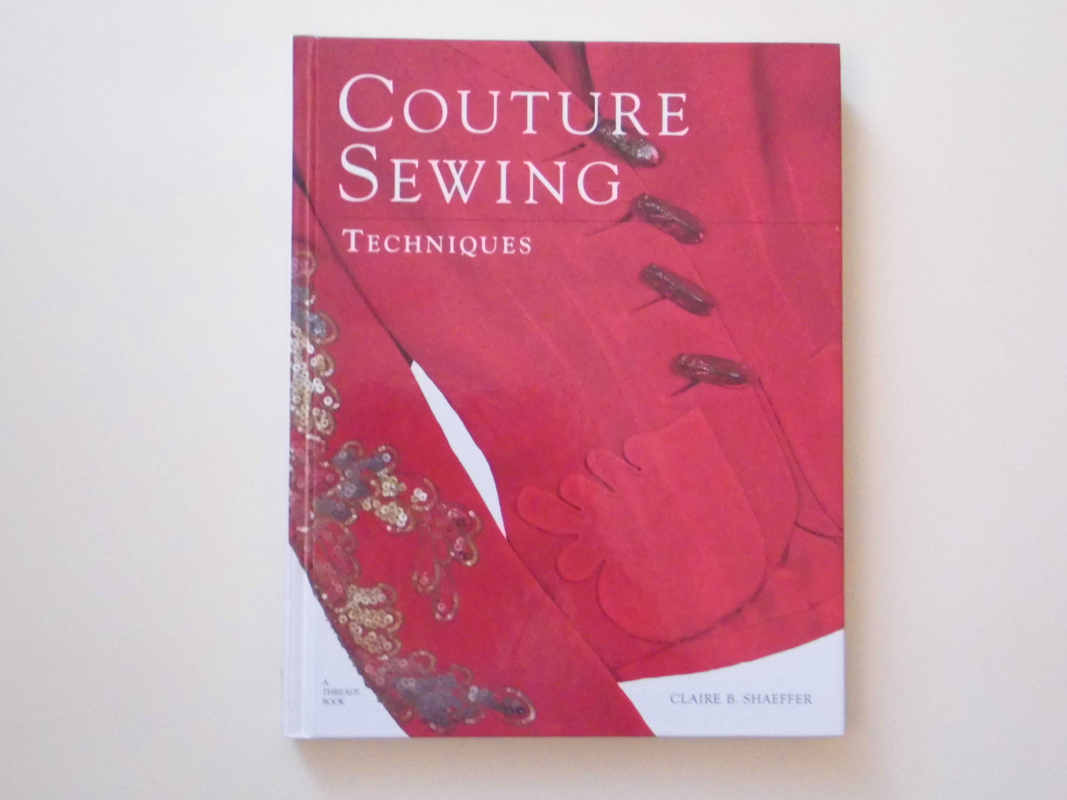 Book couture sewing techniques
